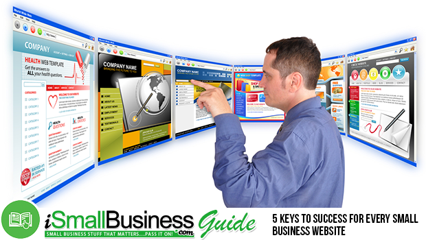 5 Keys To Success For Every Small Business Website