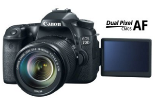 Canon 70D DSLR for YouTube Videos