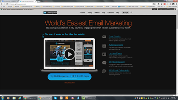 Get Response Email Marketing Service
