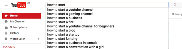 Google Search Instant Results