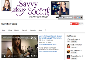 Savvy Sexy Social YouTube Channel