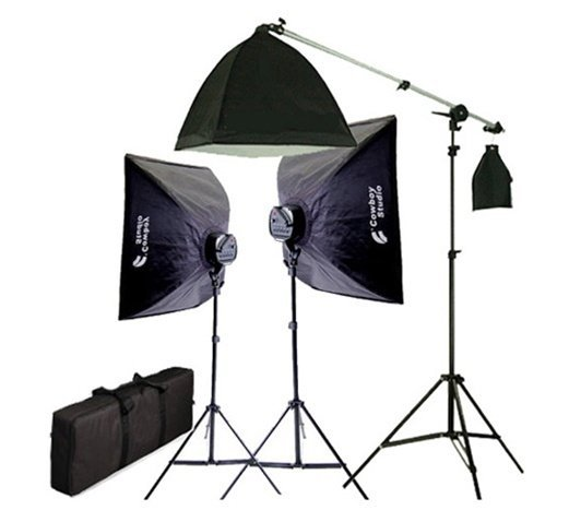 soft box lighting kit to use for your YouTube Videos
