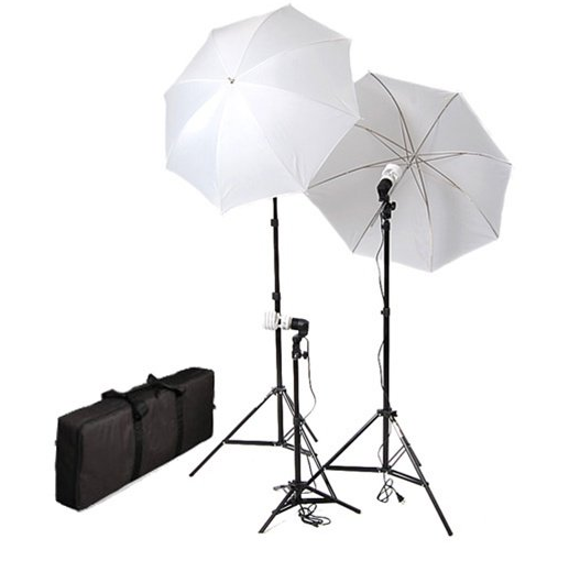 Umbrella lighting kit to use for your YouTube Videos