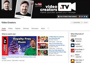 Video Creators YouTube Channel