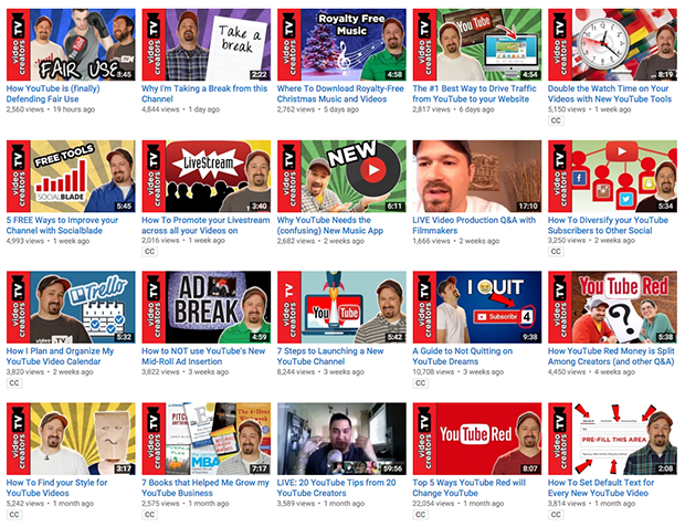 YouTube Channel Custom Thumbnails Example from Video Creators